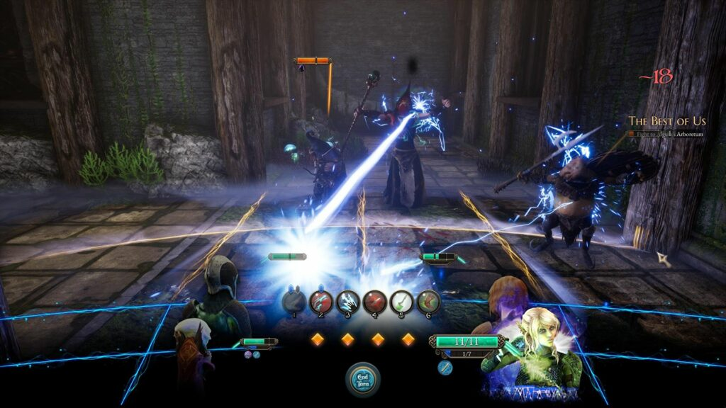 Bard's Tale IV Combat